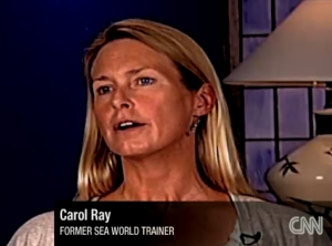 Photo of Carol Ray from CNN interview