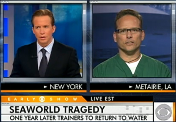 Click here to watch Dr Jeff Ventre on the CBS Early Show