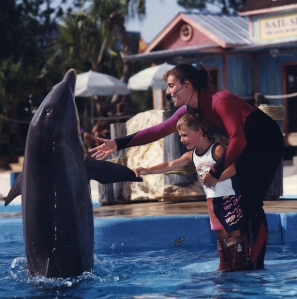 Samantha Berg at Whale and Dolphin Stadium