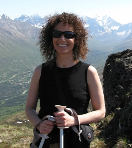 Former SeaWorld trainer Samantha Berg at home in Alaska